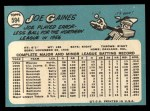 1965 Topps #594   Joe Gaines Back Thumbnail