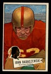 1952 Bowman Small #112   John Badaczewski Front Thumbnail