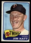1965 Topps #62   Jim Kaat Front Thumbnail