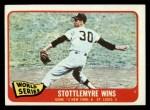 1965 Topps #133  1964 World Series - Game #2 - Stottlemyre Wins  -  Mel Stottlemyre Front Thumbnail