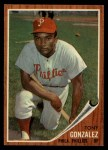 1962 Topps #534   Tony Gonzalez Front Thumbnail