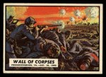 1962 Topps Civil War News #34  Wall of Corpses  Front Thumbnail