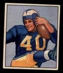 1950 Bowman #52   Elroy Hirsch Front Thumbnail