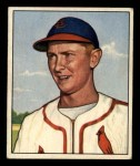 1950 Bowman #71   Red Schoendienst Front Thumbnail