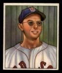 1950 Bowman #3   Dom DiMaggio Front Thumbnail