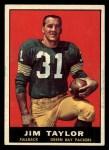 1961 Topps #41  Jim Taylor  Front Thumbnail