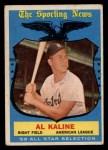 1959 Topps #562  All-Star  -  Al Kaline Front Thumbnail