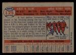 1957 Topps #125  Al Kaline  Back Thumbnail
