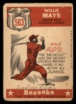 1959 Topps #563  All-Star  -  Willie Mays Back Thumbnail