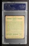 1933 Goudey Sport Kings #24   Howie Morenz  Back Thumbnail