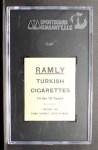 1909 T204 Ramly #53   Roy Hartzell  Back Thumbnail