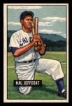1951 Bowman #211   Hal Jeffcoat Front Thumbnail