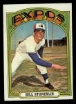 1972 Topps #610   Bill Stoneman Front Thumbnail