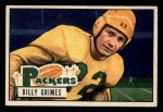 1951 Bowman #53   Billy Grimes Front Thumbnail