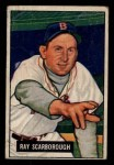 1951 Bowman #39  Ray Scarborough  Front Thumbnail