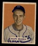 1949 Bowman #194  Ralph Branca  Front Thumbnail