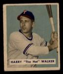 1949 Bowman #130   Harry Walker Front Thumbnail