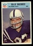 1966 Philadelphia #15   Ray Berry Front Thumbnail