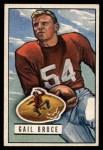 1951 Bowman #104  Gail Bruce  Front Thumbnail