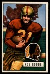 1951 Bowman #36   Rob Goode Front Thumbnail