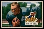 1951 Bowman #61   Donald Doll Front Thumbnail