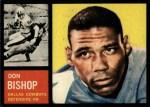 1962 Topps #46  Don Bishop  Front Thumbnail