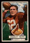 1951 Bowman #137   Charley Trippi Front Thumbnail