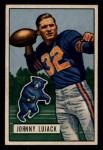 1951 Bowman #15   John Lujack Front Thumbnail