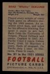1951 Bowman #81  Brad Ecklund  Back Thumbnail