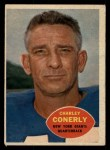 1960 Topps #72   Charley Conerly Front Thumbnail