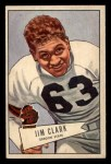 1952 Bowman Small #66  James Clark  Front Thumbnail