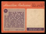 1970 Topps #255  Houston Antwine  Back Thumbnail