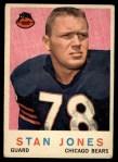 1959 Topps #96   Stan Jones Front Thumbnail