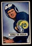 1951 Bowman #4   Norm Van Brocklin Front Thumbnail