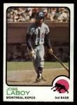 1973 Topps #642  Jose Laboy  Front Thumbnail