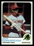 1973 Topps #554   Dave Concepcion Front Thumbnail