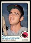 1973 Topps #301  Billy Grabarkewitz  Front Thumbnail