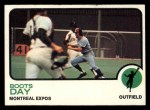 1973 Topps #307   Boots Day Front Thumbnail