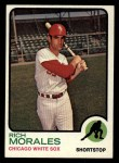 1973 Topps #494   Rich Morales Front Thumbnail