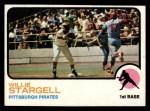 1973 Topps #370  Willie Stargell  Front Thumbnail