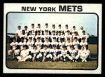 1973 Topps #389   Mets Team Front Thumbnail