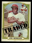 1972 Topps #752  Traded  -  Joe Morgan Front Thumbnail