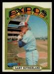 1972 Topps #211   Gary Sutherland Front Thumbnail