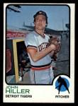 1973 Topps #448  John Hiller  Front Thumbnail