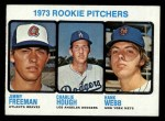 1973 Topps #610   Rookie Pitchers  -  Jimmy Freeman / Charlie Hough / Hank Webb Front Thumbnail