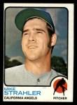 1973 Topps #279  Mike Strahler  Front Thumbnail