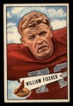 1952 Bowman Small #47   William Fischer Front Thumbnail
