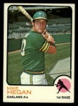 1973 Topps #382  Mike Hegan  Front Thumbnail