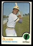 1973 Topps #225  Al Oliver  Front Thumbnail