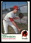1973 Topps #506  Bart Johnson  Front Thumbnail
